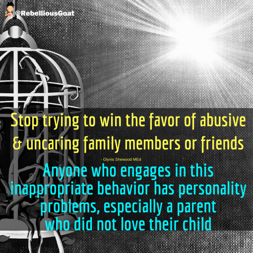 Quote 62 : Abusive family members